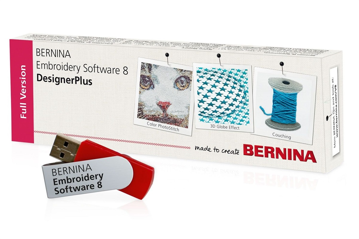 Bernina Vyšívací software BERNINA 8 – DesignerPlus