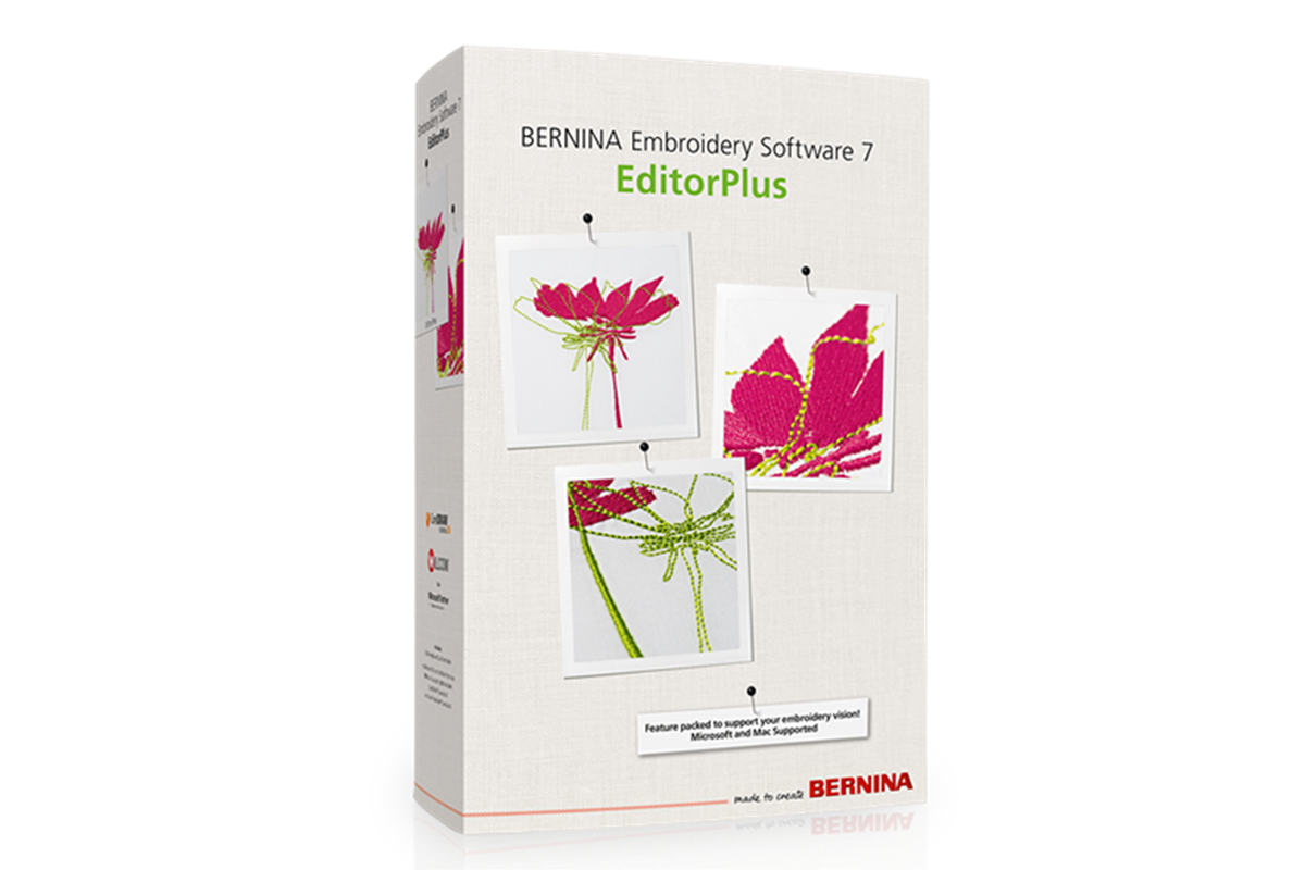 Bernina BERNINA 7 – EditorPlus vyšívací software