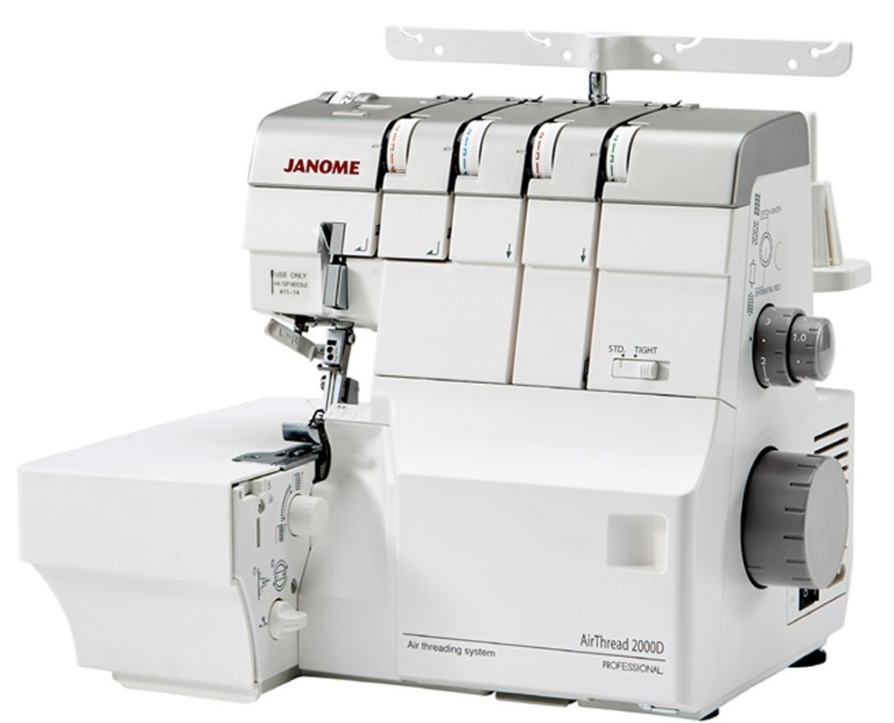 Overlock Janome Air Threading 2000D