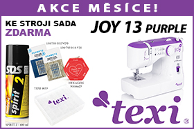 Šicí stroj Texi Joy 1302 Purple